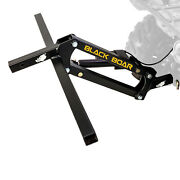 Black Boar Sturdy Steel Atv Hitch Electric Implement Lift Attachment For Parts