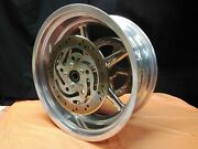 Harley Davidson Genuine Fxcwc Rocker 18x8 Rear Rim Pully Rotor And Bearings