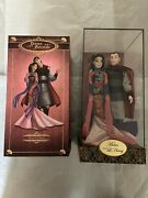 Disney Fairytale Designer Collection Mulan And Li Shang Dolls Le 6000 Low68 New