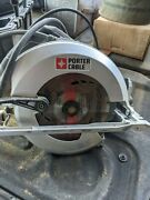 Porter Cable 71/4 Corded Circular Saw Model Pc15tcsm