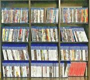 Playstation 3 And 4 Games Huge Lot New/used You Pick Em Ps4 Games Cleaned/tested