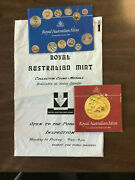 1984 Australia Uncirculated Coin Set With Added 1 - Royal Australian Mint
