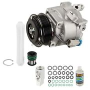For Chevy Sonic 2014 2015 Oem Ac Compressor W/ A/c Repair Kit Tcp