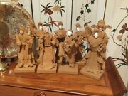 8 Vintage Joss Stick Figurines, Collectables By Mr. Tay Guan Heng In Singapore