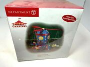 Department 56 Carnival Flying High Space Planes Figure New Sealed Rare