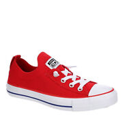 Converse All Star Shoreline Knit Slip On Womenandrsquos Athletic Sneaker Red Shoe