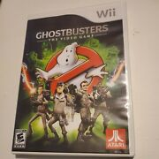 Ghostbusters The Video Game Nintendo Wii Complete Cib Authentic B6