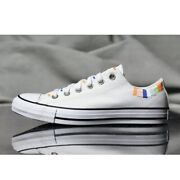 Converse All Star Ox Womenand039s Chuck Taylor Athletic Casual Sneaker White Shoe