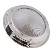 Round Ceiling Dome Light Stainless Steel Housing 12v 10w Warm Light