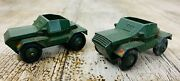 Vintage Meccano Dinky Toys 673 Military Scout Car Models For Display Restoration