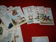 Antique Dondorf Wahrsage-karte 1 Lenormand Fortune Telling Cards Circa 1904