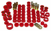 Prothane 84-96 Chevy C4 Corvette Complete Total Suspension Bushing Kit Red Poly