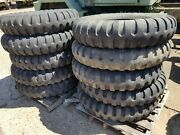 Lot Of 10 Tires 1100x20 Bias Ply 5 Ton Military 70-80 Tread