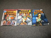 Tomb Raider Pc Lot With Guides And Magazines