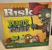 Risk Plants Vs Zombies Collectors Edition Board Game - New Sealed