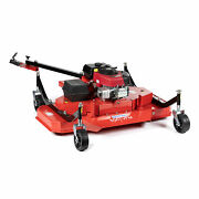 Titan Attachments 60 Atv Tow-behind Finish Mower Briggs And Stratton Electric