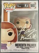 Kate Flannery Autograph Funko Pop The Office Meredith Palmer Signed Jsa Witness