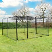 Harrier Walk In Fruit Cage | Sturdy Frame/20mm Bird Netting | Plant And Veg Cover