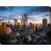 Buildings At Sunset In Downtown Toronto, Ontario Giclee Extra Large