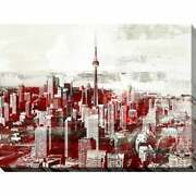 Ppi Studio Toronto, Ontario 2 Giclee Stretched Canvas Wall Extra Large