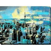 Ppi Studio Toronto, Ontario 4 Giclee Stretched Canvas Wall Extra Large