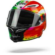 Agv Pista Gp Rr Rossi Mugello 2019 Green White Red Motorcycle Helmet - New ...