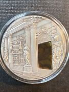 Amber Room Masterpieces In Stone 3 Oz Antique Finish Silver Coin 10 Fiji 2015