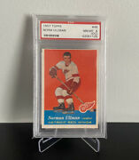 1957 Topps Norm Ullman Rc Rookie Card 46 Psa 8 Oc Low Pop Only 1 Higher Sharp