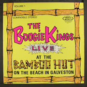 Boogie Kings Live At The Bamboo Hut Montel-michelle 12 Lp 33 Rpm
