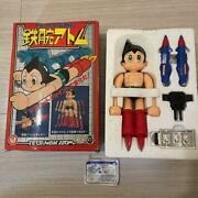 Takara Magne Robot Astro Boy Power-up Parts Seals Are Missing W / Box From Japan