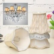 Vintage Small Lace Lamp Shades Textured Fabric Ceiling Chandelier Light Us H