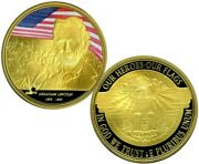 Abraham Lincoln Colossal Commemorative Coin Proof Value 139.95