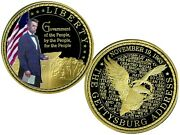 Abraham Lincoln Government Of The People Commemorative Coin Proof 139.95