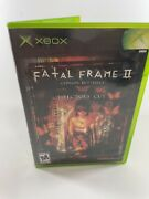 Fatal Frame 2 Crimson Butterfly Director's Cut Xbox Disc Case Manual Tested