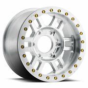 4-vision 398 Manx Forged Bedlock 17x9.5 6x6.5 +26 Machined Wheels Rims 17 Inch