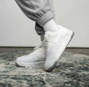 Nike Air Force 1 Crater Summit White Cz1524-100 Sneakers Size 14