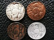 Silver And Bronze World Peace Art Medals Pace Mlk Pope Kennedy Justice