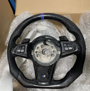 New Professional Sports Flat Real Carbon Fiber Steering Wheel For Bmw Z4 E89 16+