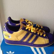 Adidas Originals Superstar Ss 1 Nba Lakers 014151 Men 9.5us