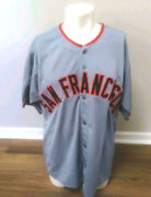 Willie Mays Autographed Signed San Francisco Giants Jersey - Say Hay Holo - Coa
