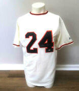 Willie Mays Autographed Signed S F Giants Jersey - Mvp Authentics - Coa
