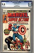 Marvel Super Action 1 Cgc 9.8 Oww Avengers 4 Cover Homage