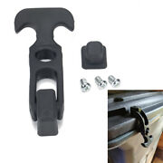 Rubber Flexible T-handle Hasp Draw Latch Buckle Fit Tool Box/cooler/golf Cart