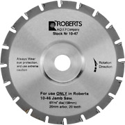 6-3/16 In. 20-tooth Carbide Tip Jamb Saw Blade