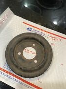 1968-1970 Ford 390-428 Lower Crank Pulley Single Grove