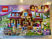 Lego Friends Heartlake Riding Club Box And Manuals 41126 Missing Stickers