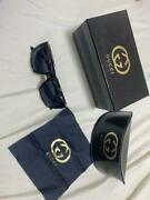 Sunglasses For Women Black With Box Case And Lens Wipe [new And Unused]