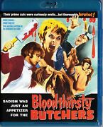 Bloodthirsty Butchers 1970 Blu-ray Code Red Andy Milligan