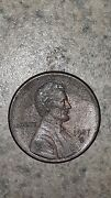 1987 D Lincoln Penny Repunched Mint Mark And Missing Letters