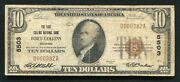 1929 10 Fort Collins National Bank Fort Collins, Co National Currency Ch. 5503